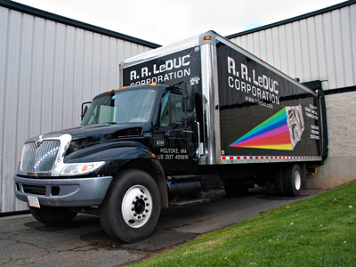 R.R. LeDuc Delivery Truck